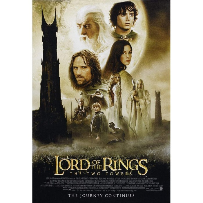 Jual Film The Lord Of The Rings The Two Towers 2002 Kota Bandung Factory Movie Dvd Tokopedia