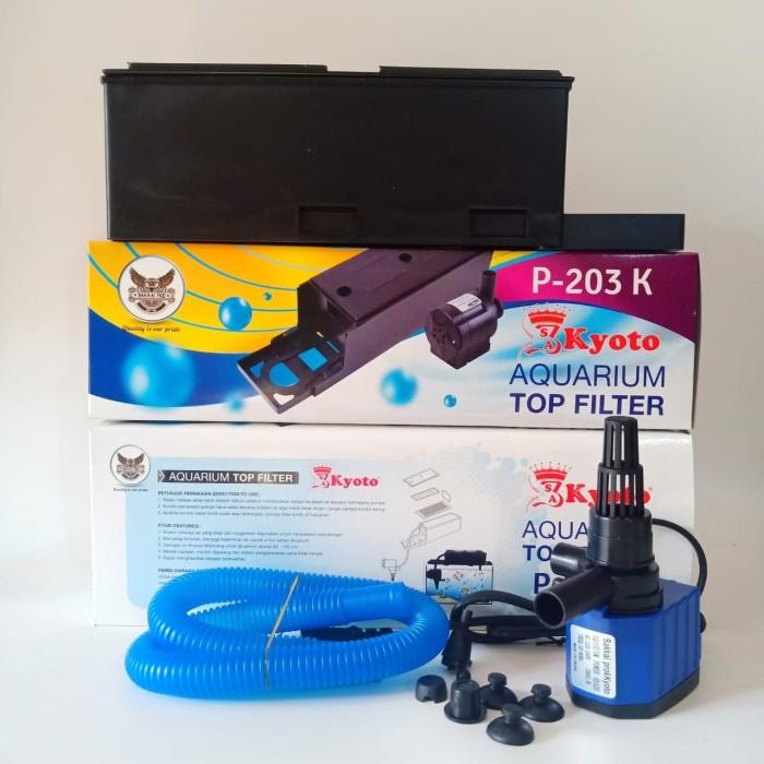 Jual Aquarium Top Filter Box 3in1 P-203K Kyoto Filter ...