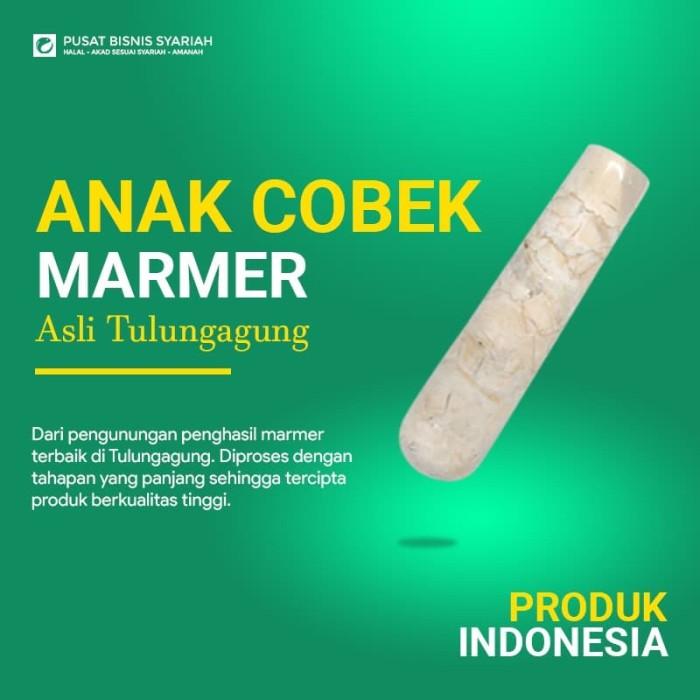 Foto Produk Anak Cobek Marmer dengan bubble wrap dari PBS.Official Store