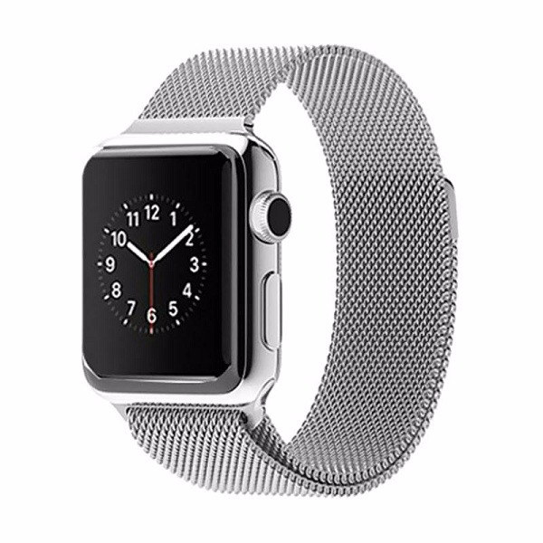 Foto Produk Tali Jam Apple Watch Milanese Loop Strap Band Iwatch 38mm - Rose Gold - Putih dari gudanggadget14