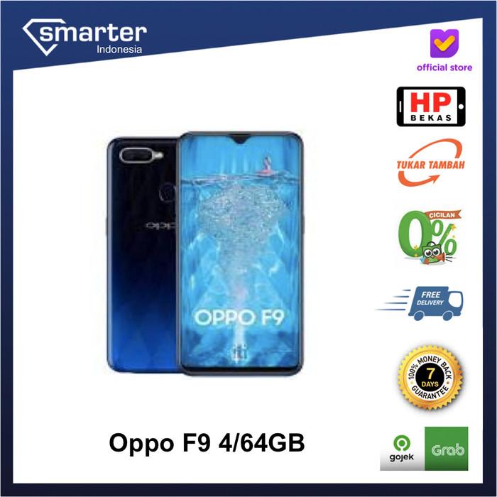 Foto Produk Oppo F9 4/64GB Handphone Second Original - Handphone saja dari Smarter Indonesia