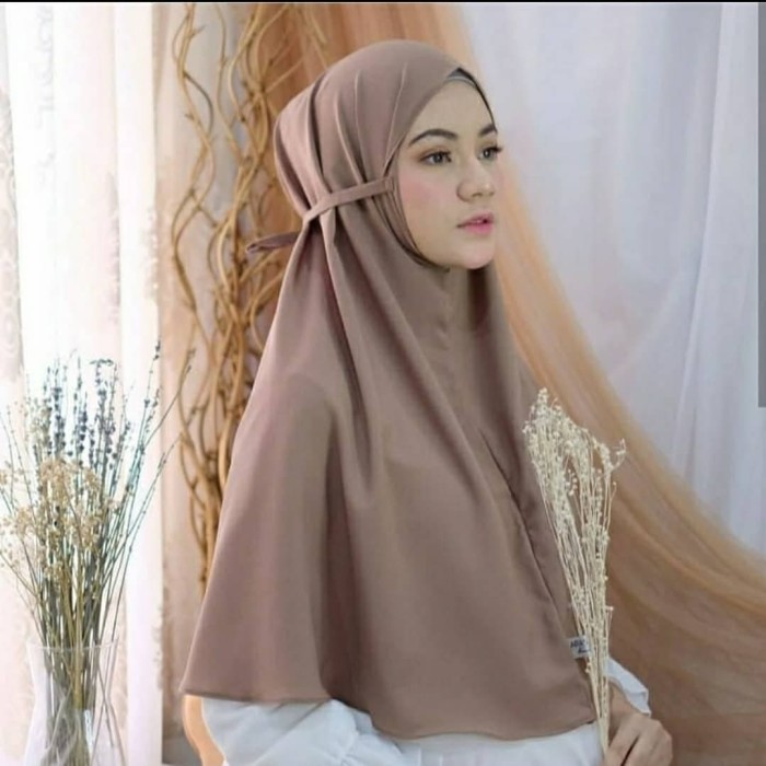 Jual Bergo Maryam Diamond Italiano Ukuran All Size Fit To L Kab Jepara Adelia Hijab Tokopedia