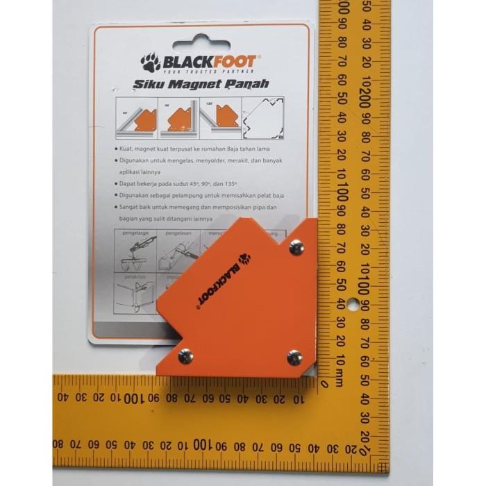 Foto Produk Magnet Holder Arrow Magnetic Siku Magnet Untuk Las 3 inch WIPRO dari TOKO BESI TIMUR JAYA