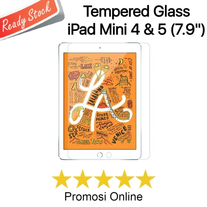 "Foto Produk Tempered Glass iPad Mini 4 & 5 7.9"" Inch dari Promosi Online"