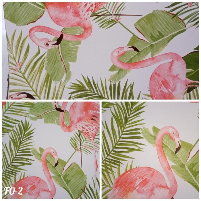 Jual Wallpaper Dinding 3d Wallpaper Motif Burung Flamingo Uk 53cm X 10m F0 2 Kota Surabaya Tanswallpaper Tokopedia