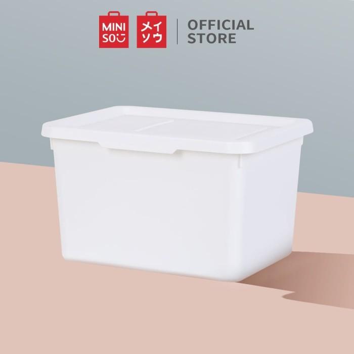 Foto Produk MINISO Simple Storage Box Organizer Multifungsi, Kecil dari Miniso Indonesia