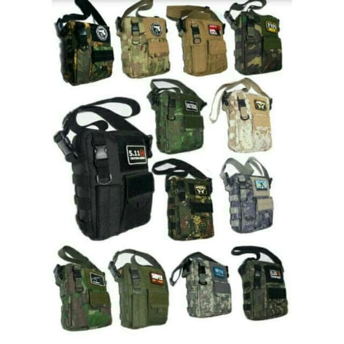 Foto Produk Tas Selempang Army Campsnail Tactical dari BagShooShop