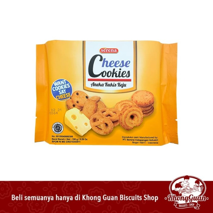 Foto Produk Serena Cheese Cookies Box dari Khong Guan Biscuits Shop