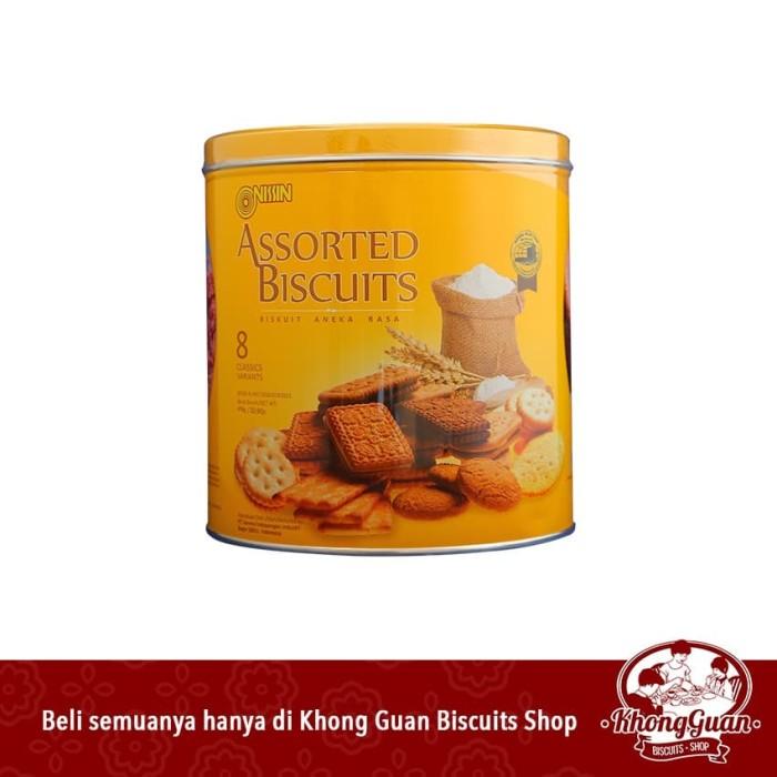 Foto Produk Nissin Assorted Yellow Tin dari Khong Guan Biscuits Shop