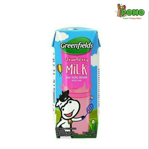 Foto Produk Greenfields UHT Strawberry 125ml dari Pono Area Solo