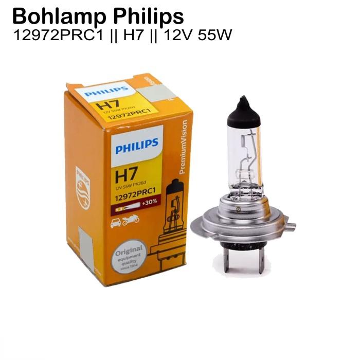 Jual Philips H7 Premium Vision 12v 55w Bohlam Lampu Mobil 12972pr Jakarta Utara Automobil Variasi Tokopedia