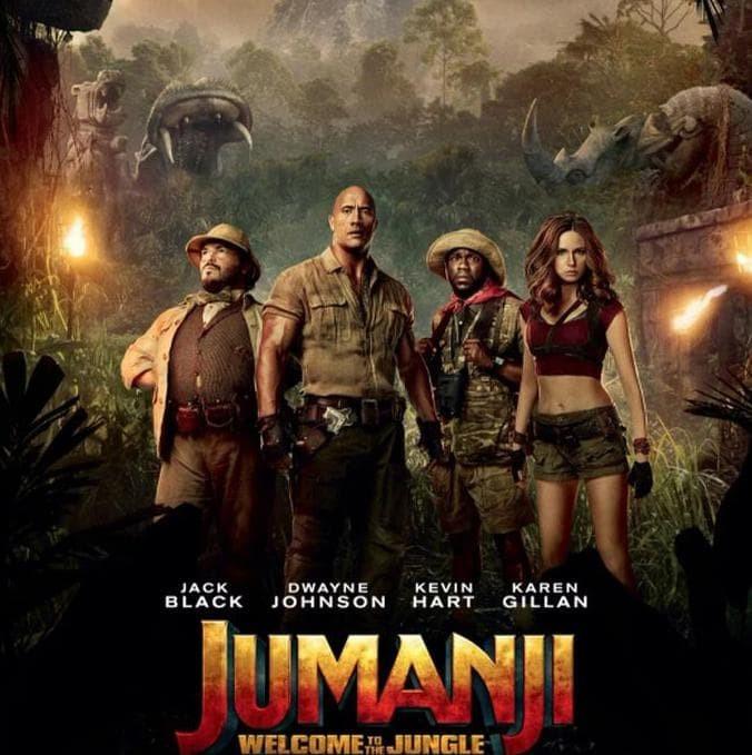 Jual Jumanji Welcome To The Jungle 2017 Original Jakarta Barat Shakila Tokopedia