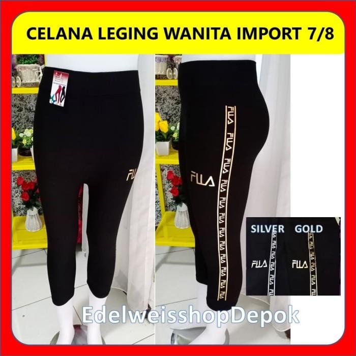 Jual Celana Leging Import Terbaru Pendek 7 8 Motif Fila Kota Depok Edelweisshopdepok Tokopedia