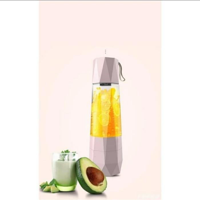 Foto Produk Blender Vacuum Portabel | Blender mini | Juicer portabel - Merah Muda dari Ntapsoul MILK