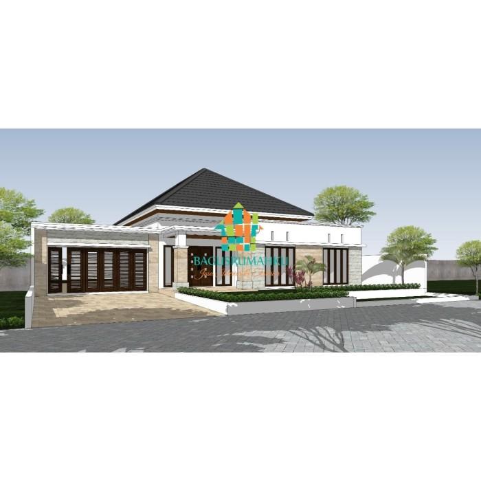 Jual Desain Rumah 1 Lantai Dengan Gambar Yang Berkualitas Jakarta Selatan Bagusrumahku Kontraktor Tokopedia