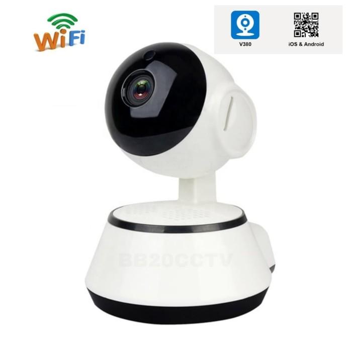 Foto Produk Smart Camera Wifi V380 HD720P Wireless Mini IP CCTV Phone Audio - PACKING STANDAR dari bb20