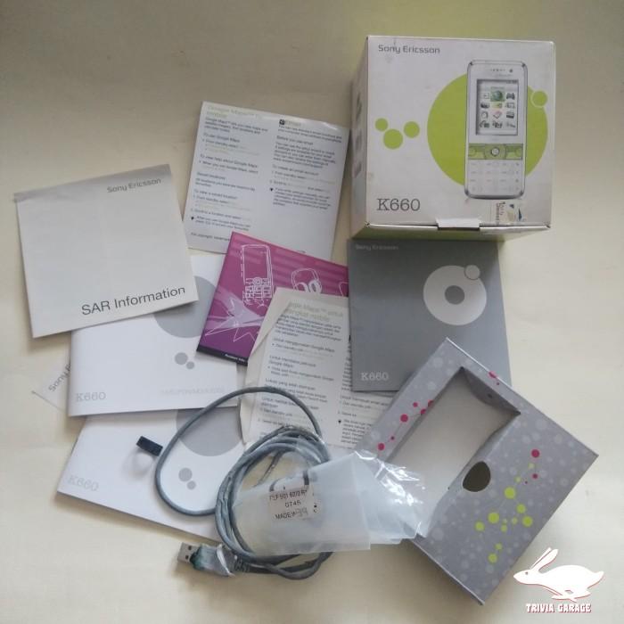 Foto Produk Kardus Handphone Sony Ericsson K660 dari Trivia Garage