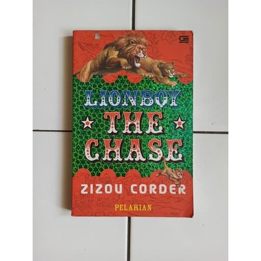 Foto Produk Novel Lion Boy: The Chase (Pelarian) Penulis Zizou Corder dari Toko Buku Bekas Aksiku