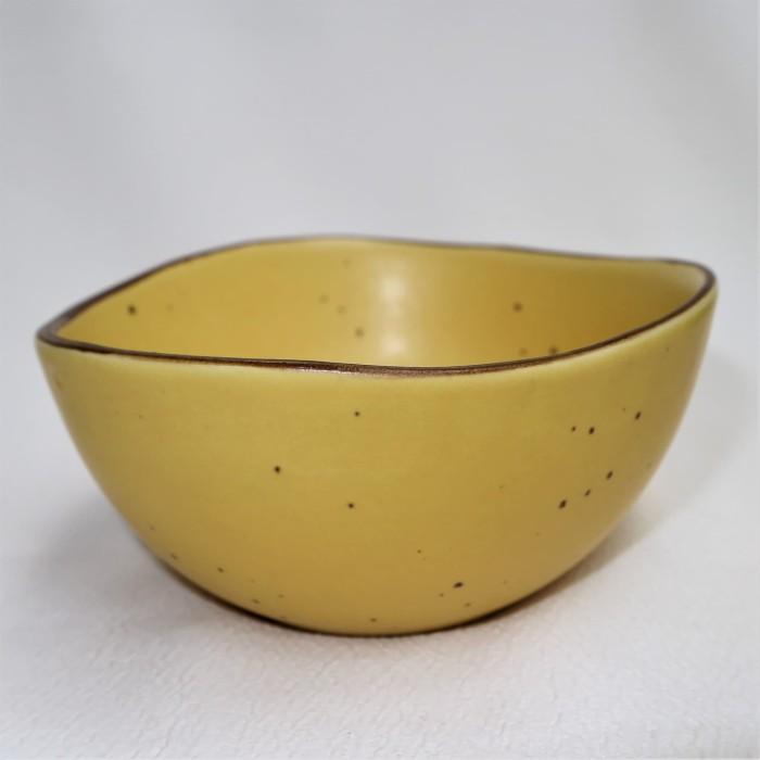 Foto Produk Artisan Ceramic | Yellow Speckle Resto Dip Bowl | Mangkok Keramik dari Artisan Ceramic