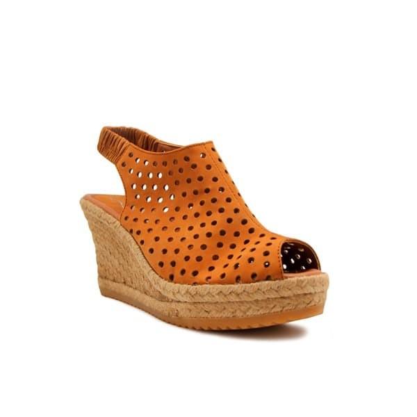 Foto Produk WEDGES Alexa Espadrilles - Light Brown 7cm dari Natana Shoes