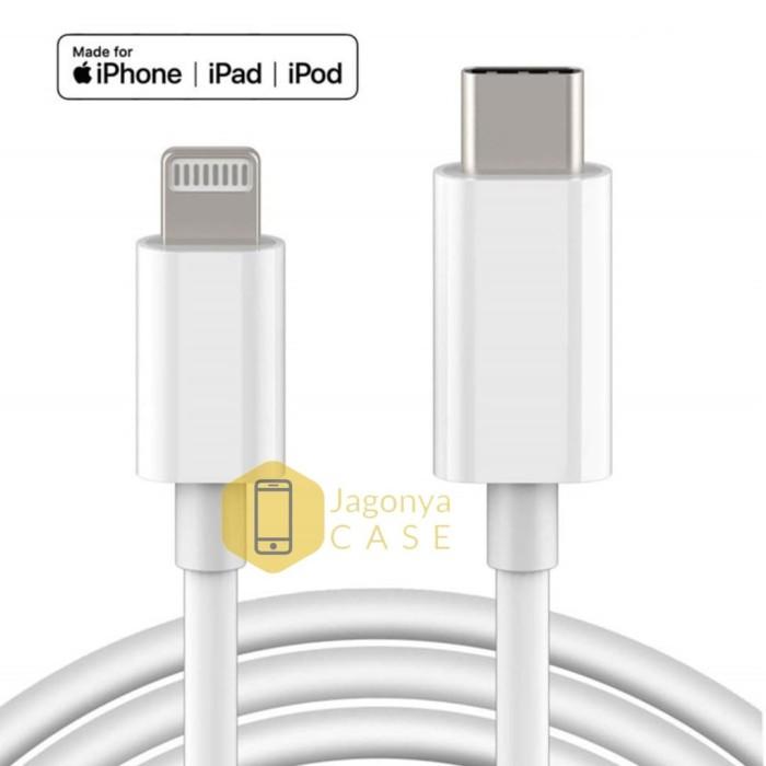 Foto Produk Kabel Data Iphone 11 Pro 11 Pro Max Cable USB type C to Lightning dari Jagonya Case