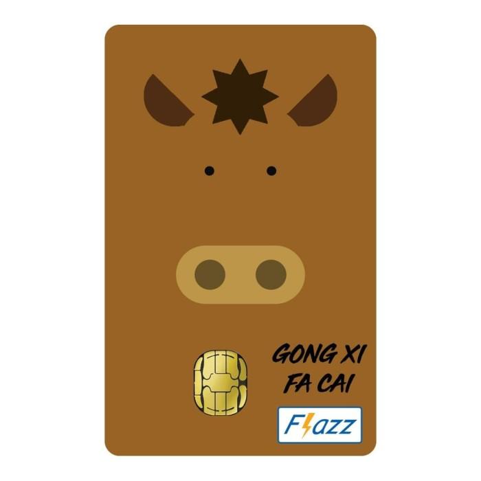 Foto Produk Kartu Flazz Limited Edition Imlek Kuda dari Flazz Official Shop