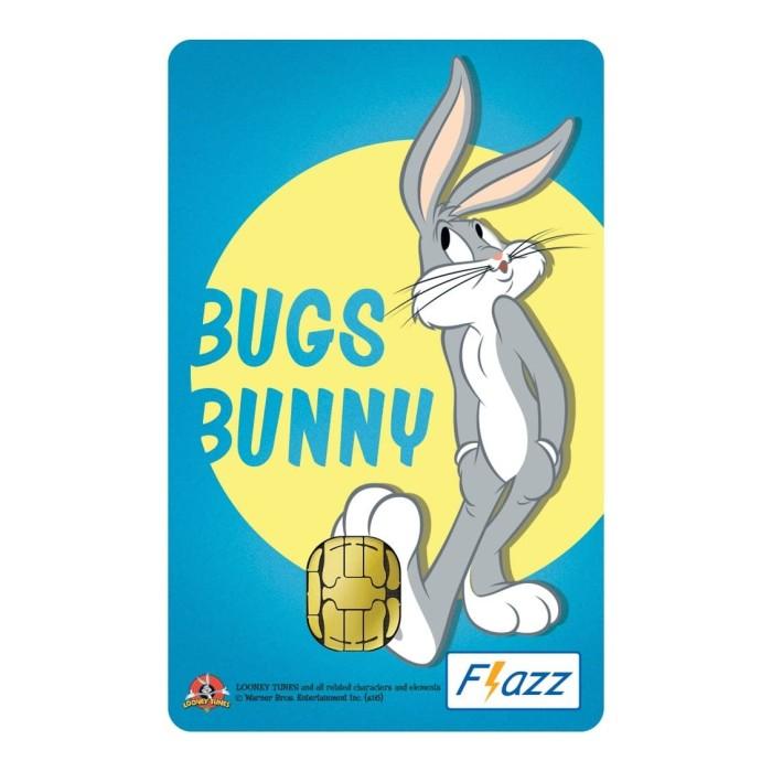 Foto Produk Kartu Flazz Limited Edition Bugs Bunny Gen 1 dari Flazz Official Shop