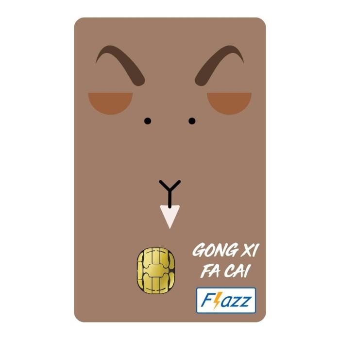 Foto Produk Kartu Flazz Limited Edition Imlek Kambing dari Flazz Official Shop