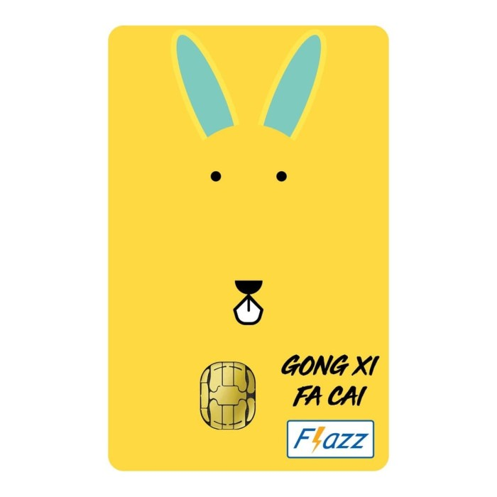 Foto Produk Kartu Flazz Limited Edition Imlek Kelinci dari Flazz Official Shop