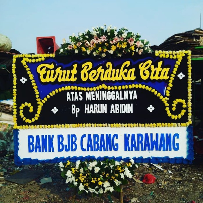 Jual Karangan Bunga Wisuda Jakarta Barat Golddiamond Tokopedia