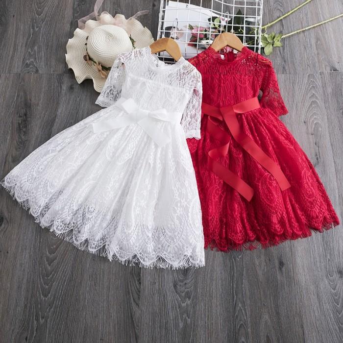 Jual Girl Clothes Kids Dresses For Girls Lace Baby Girl Party Birhtday Jakarta Pusat Barokah Urip Tokopedia