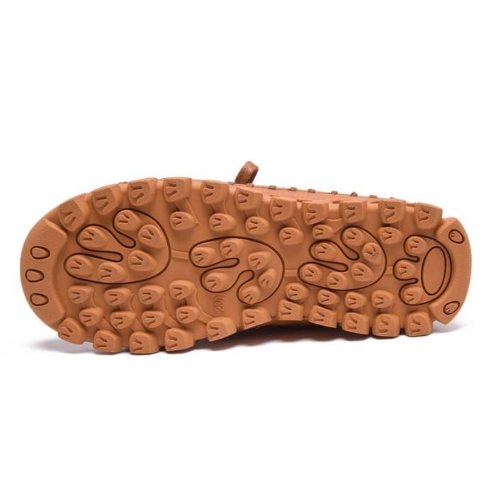 Jual Genuine Leather Shoes Women Boots 2020 Autumn Winter Fashion Handmade Jakarta Pusat B Dan B Tokopedia