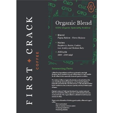 Foto Produk Organic Blend 1Kg - Seasonal Edition dari First Crack Coffee