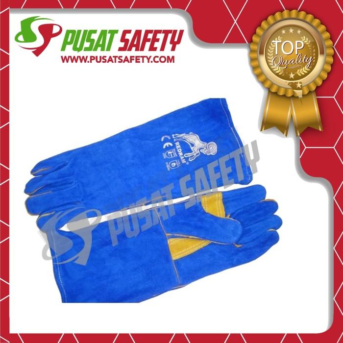 Foto Produk Sarung Tangan Las 14inc Redram dari Pusat Safety Online