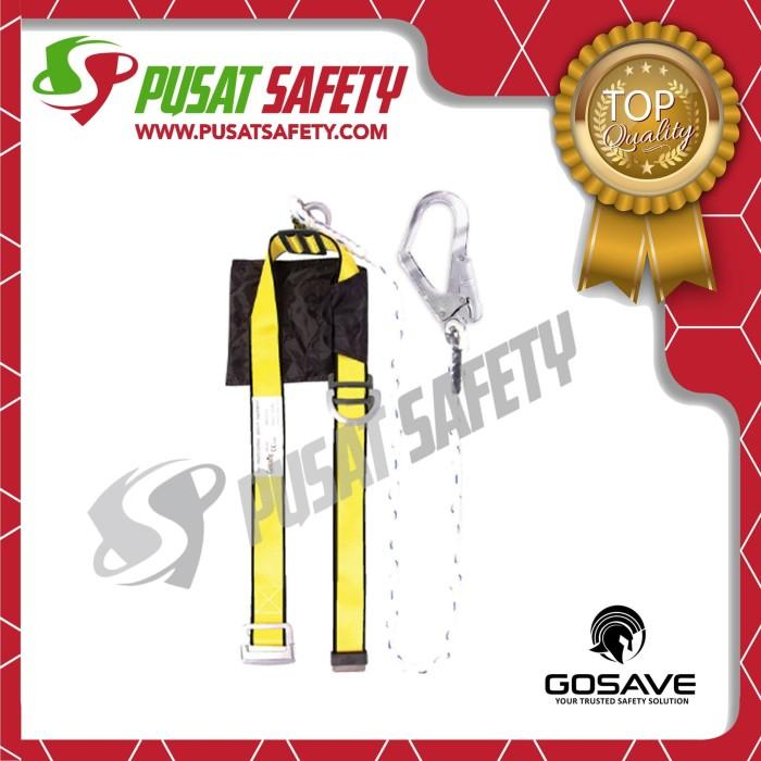 Foto Produk Safety Belt Body Harness Single Big Hook GoSave dari Pusat Safety Online