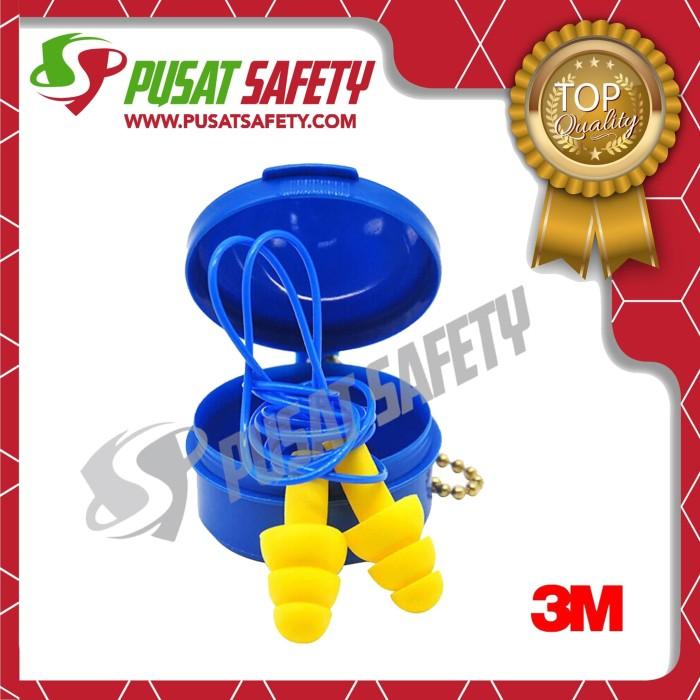 Foto Produk Earplug Penutup Penyumbat Telinga 3M Ultrafit dgn Case dari Pusat Safety Online
