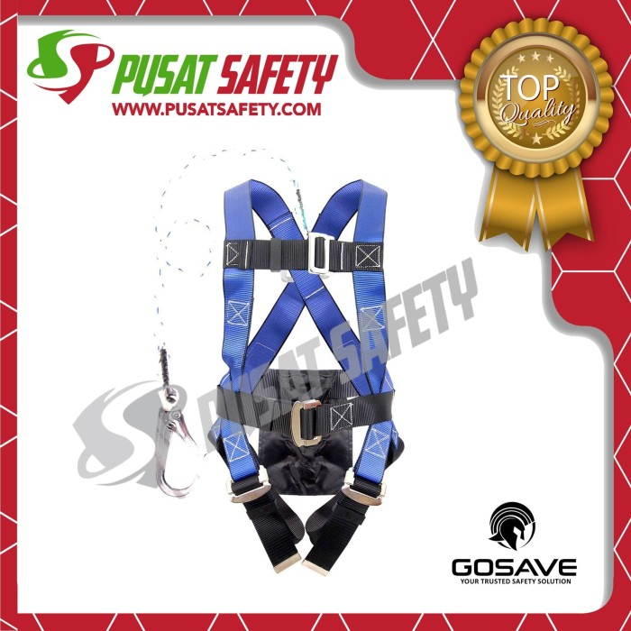 Foto Produk Full Body Harness Single Big Hook Eco Fit GoSave dari Pusat Safety Online