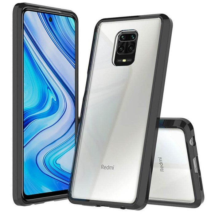 Foto Produk Vision Armor Case Xiaomi RedMi Note 9 Pro - Casing Cover Hard Soft Ori dari Logay Accessories