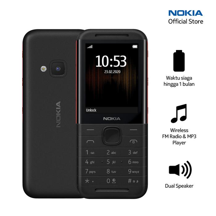Foto Produk Nokia 5310 (2020) - Black/Red dari Nokia Official Store