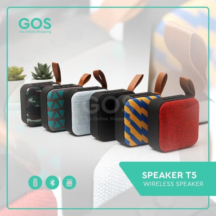 Foto Produk Speaker Bluetooth Mini JBL T5 Wireless Music dari GOS Aksesoris HP