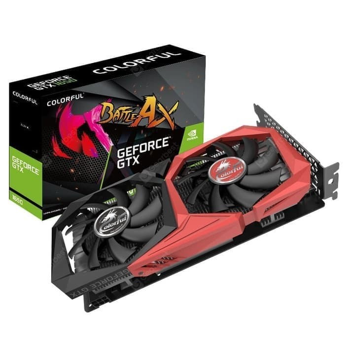 Foto Produk Colorful GeForce GTX 1660 SUPER 6GB NB 6G-V Dual Fan dari Flazz Computer Pekanbaru