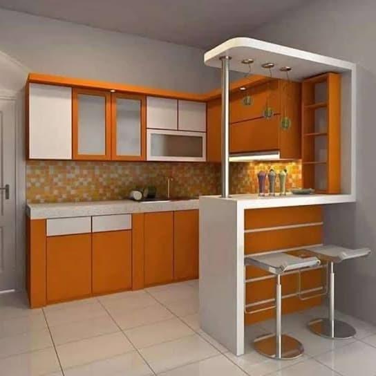 Jual Kitchen Set Minibar Dapur Hpl Dan Cat Duco Di Purwokerto Kab Banyumas Interior Kitchen Set Tokopedia