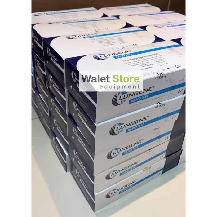 Foto Produk Box 25pcs Tes Rapid Lungenee Akurat Asli Sertifikat dari Walet Store