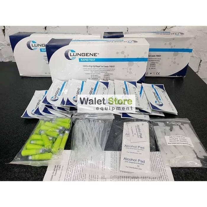 Foto Produk Rapid Tes Lungenee Akurat Asli Sertifikat dari Walet Store