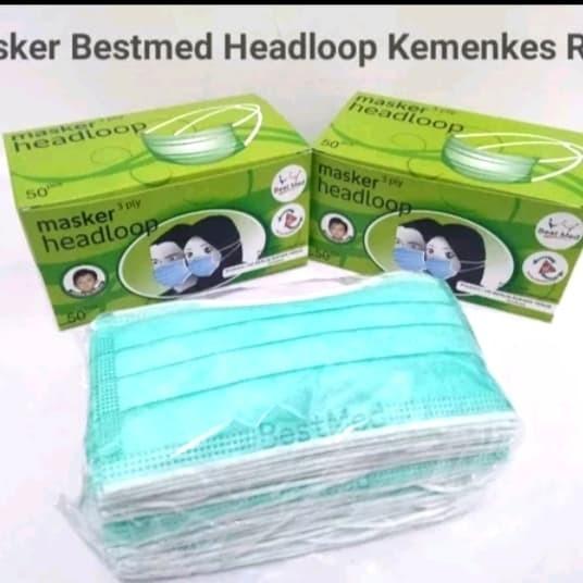 Foto Produk Best Med Mask Headloop (Hijab) ready dari REJODADI1