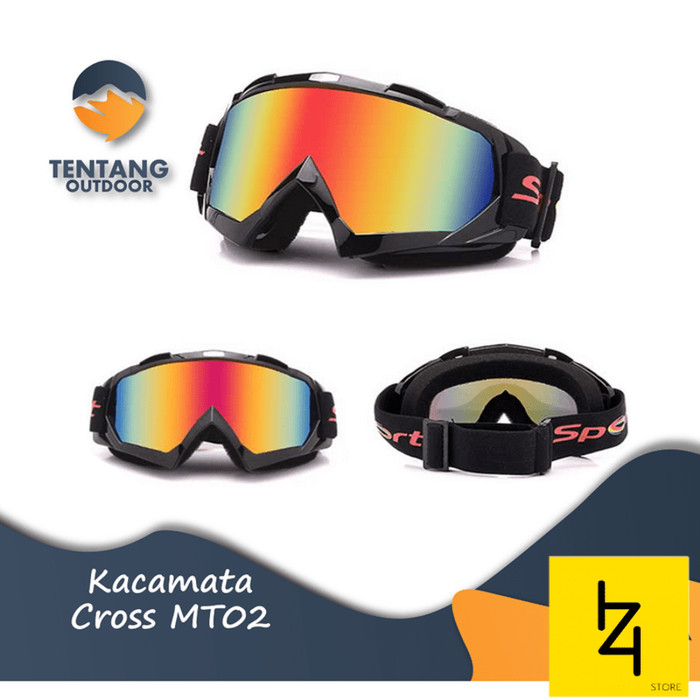 Foto Produk Kacamata Cross Ski Outdoor MT02 Unisex Bicycle Motorcycle Goggles dari IZI CELL