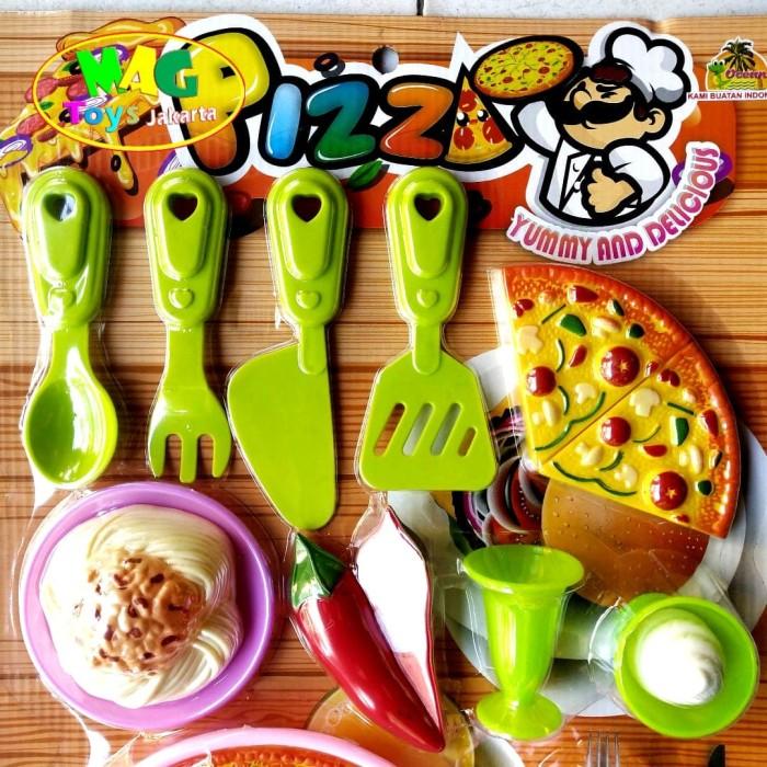 Foto Produk mainan pizza set yummy and delicious dari MAG TOYS
