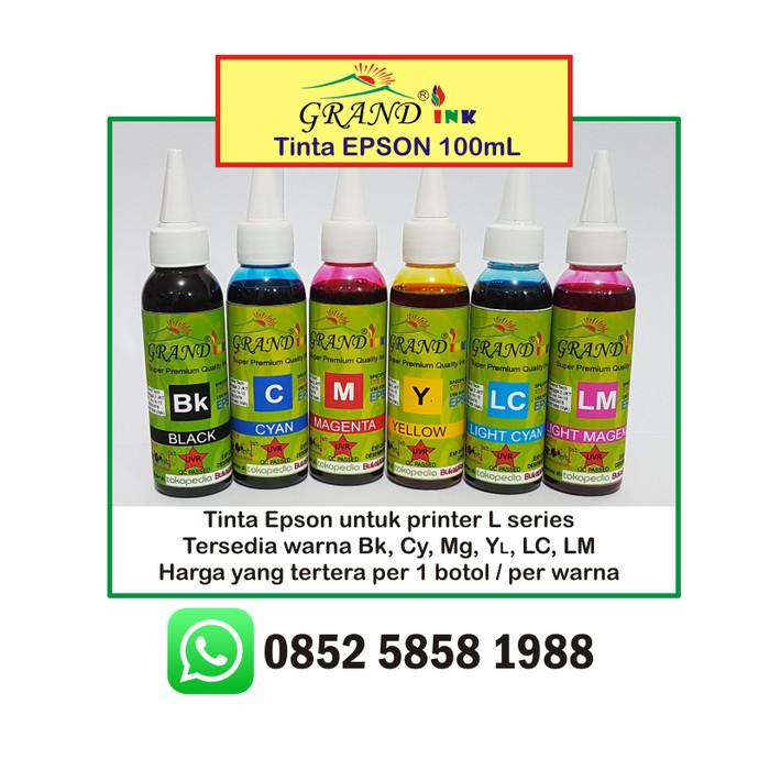Foto Produk Tinta Epson Diformulasikan Anti Mampet (made in Jerman) dari Grand Ink