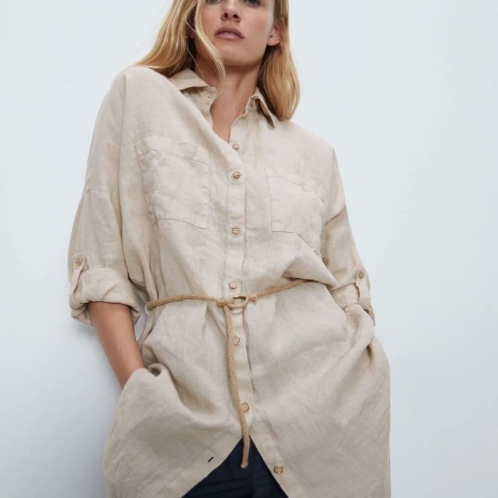 Foto Produk Khaki Comfortable Work From Home Outfit Atasan Katun IMPORT dari RedVelvetBoutique
