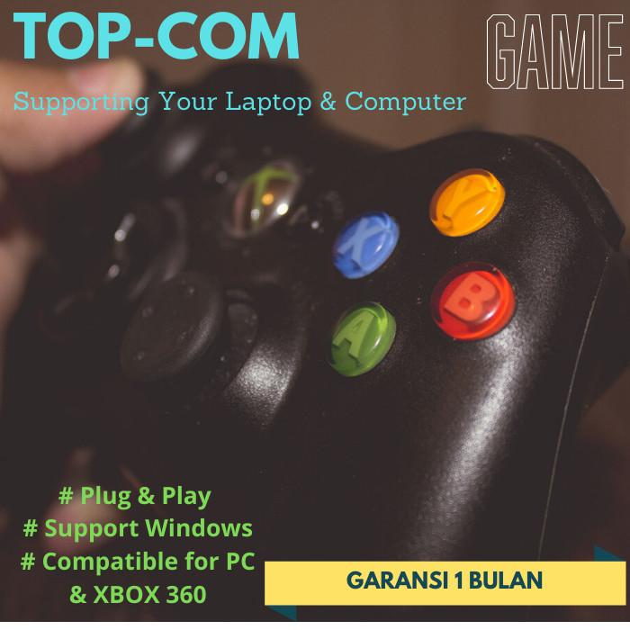 Jual Stick Gamepad Joystick Xbox 360 Console Pc Komputer Laptop Gaming Jakarta Barat Top Com Tokopedia